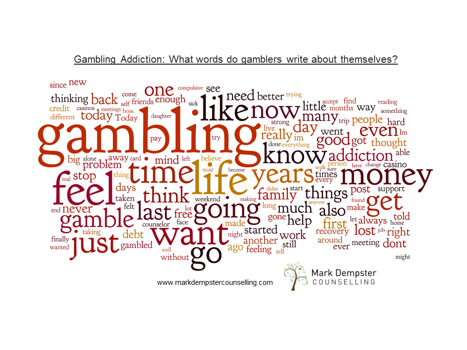 Gambling addiction counselling uk casino mastercard